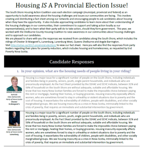 candidate responses