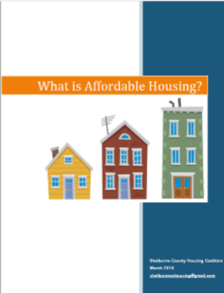 What is affordable housing graphic